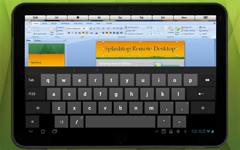 splashtop     android tablets top remote