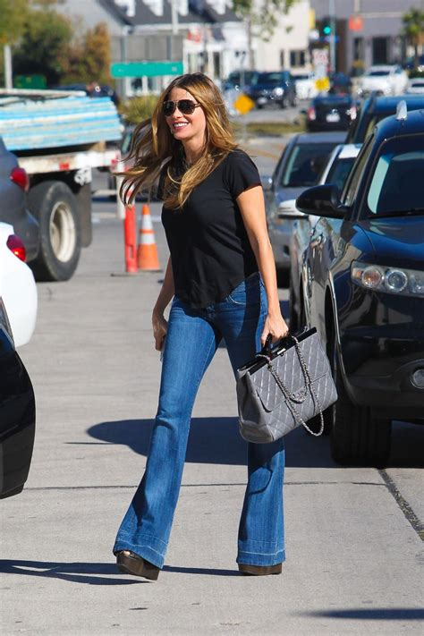 Sofia Vergara In Jeans Shopping In Beverly Hills Hawtcelebs