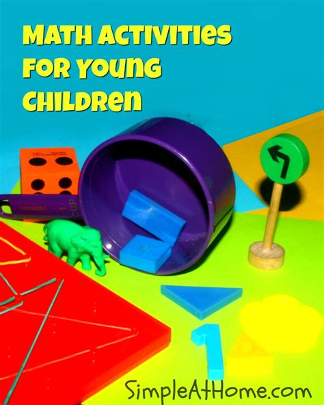 math activities for children simple at home 798 | Math Activities for Young Children