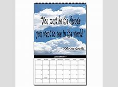 Quotes For Calendars January QuotesGram