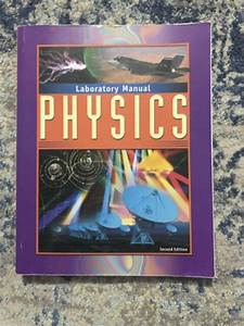 Physics Laboratory Manual  2nd Edition  Bju Press