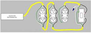 Is This Wiring Diagram For A Series Of Outlets Correct
