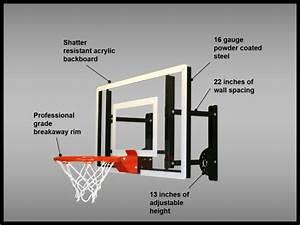 Ramgoal Adjustable Durable Indoor Mini-Basketball Hoop and ...