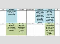 2016 Calendar For Trid Appraisal Requirement Calendar