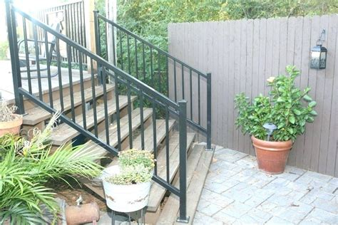 Wrought Iron Handrails Ma Brass And Exterior Railings