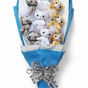 bouquet de chatons en peluche With affiche chambre bébé avec bouquet de fleurs Ï domicile