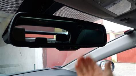 Autodimming Mirror Greenyi In Honda Civic Viii Gen