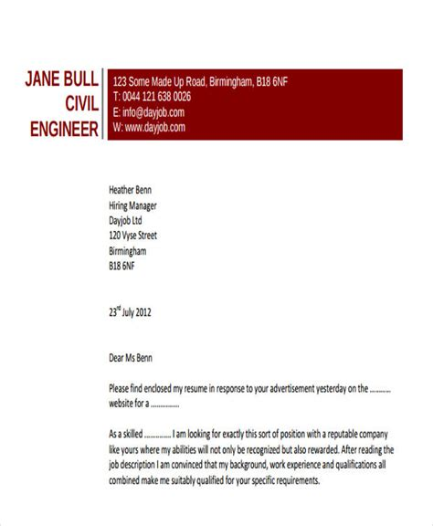 civil engineer resume sle pdf 28 images sle resume civil engineer cover letter sle 28 images unsolicited