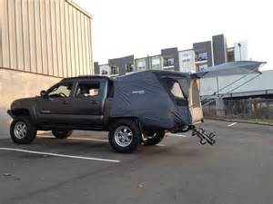 tested my cheap truck tent today tacoma world forums truck cing cheap