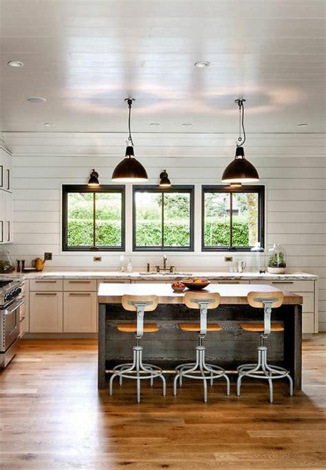 idee cuisine equipee la cuisine équipée avec ilot central 66 idées en photos