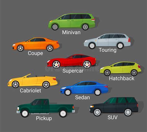 Cars Types Stock Illustration. Illustration Of Pictogram