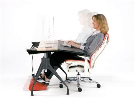 ergonomic computer desk design minimalist desk design ideas