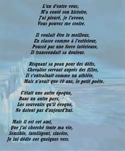 La Vie Poeme by 1 1 Poemes Poeme Ami Img Po 233 Mes Sur La Vie O00oo00o