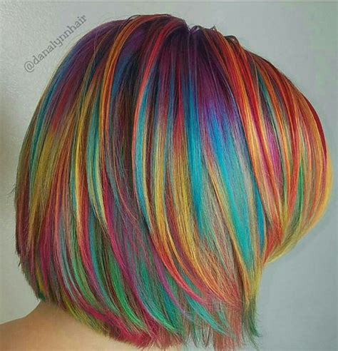 384 Best Decorate Your Hair With Rainbow Colors Images On