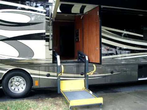 motorhome wheelchair lift