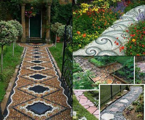 allee de jardin idees  astuces de decoration