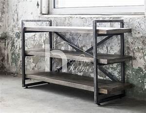 console industriel bois acier clive zd1 1jpg With wonderful meuble entree avec miroir 6 console entree contemporaine miroir style scandinave bois