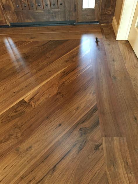Walnut Hardwood Floor Refinish   A MAX Hardwood Flooring