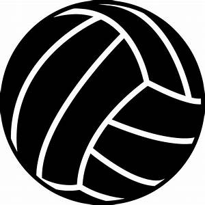 VolleyBALL OUTLINE - ClipArt Best