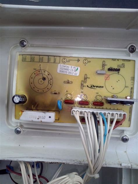 solucionado lavarropas drean unicommand 116 no desagota ni centrifuga yoreparo
