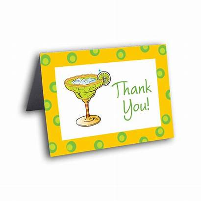 Margarita Thank Cards Mexican Card