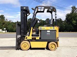 Caterpillar M40d 4000 Lbs Electric Sit  Sideshift 36v 188
