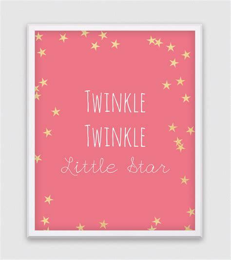 Twinkle Twinkle Little Star Wall Art - Elitflat