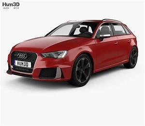Audi Rs3 Sportback : audi rs3 sportback 2015 3d model humster3d ~ Nature-et-papiers.com Idées de Décoration