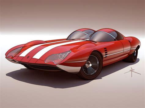 Retrofuturistic Concepts By 600v  Car Body Design