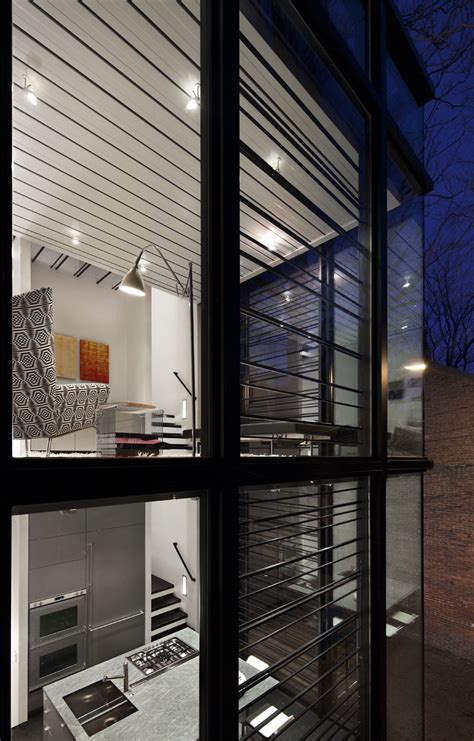modern washington dc row house idesignarch interior