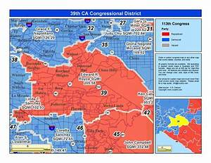 California 39th Congressional District - Ed Royce (R) District