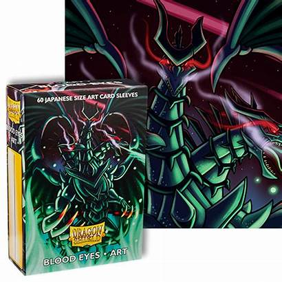 Eyes Blood Dragon Japanese Shield Dragonshield