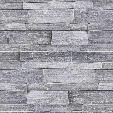 Superfresco Easy 52Cm X 10M Stone Wall Grey