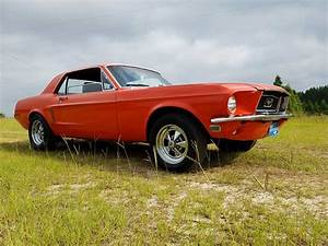 1st generation classic orange 1969 Ford Mustang For Sale - MustangCarPlace