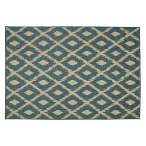tapis d ext 233 rieur en polypropyl 232 ne vert 160 x 230 cm seaside maisons du monde