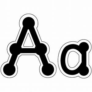 bulletin board letters dot to dot uppercase classroom With black bulletin board letters
