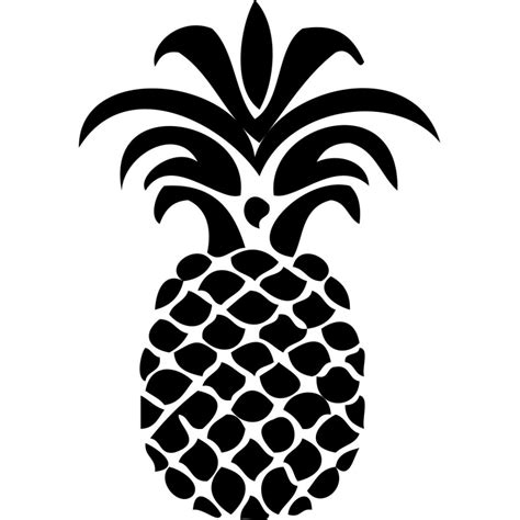 pictogramme chambre sticker ananas
