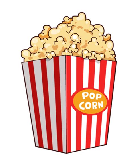 Download High Quality popcorn clipart Transparent PNG ...