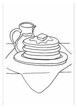 Pancakes Syrup Coloring Template Additions Newest Printable Freeprintablecoloringpages sketch template
