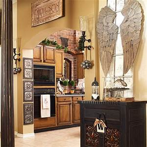 true christmas kitchen accessories application my With kitchen cabinets lowes with angel wings wall art sculpture plaque
