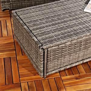 Polyrattan Lounge Sessel : polyrattan gartensofa lounge sessel grau ebay ~ Orissabook.com Haus und Dekorationen