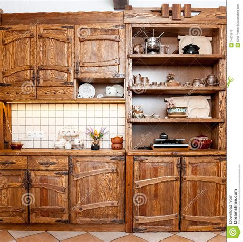 furniture for kitchen in country style stock photography image 34531912