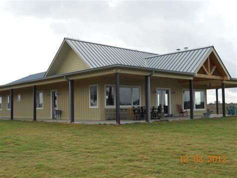 clean simple design metal building home pictures