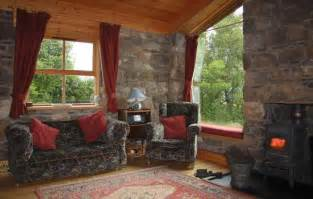 Stove In The Kitchen by Turf House Sleeps 2 Near Ullapool