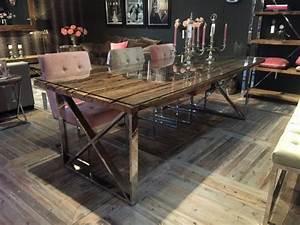 Esstisch Tischplatte Aus Altholz Tisch Im Landhausstil