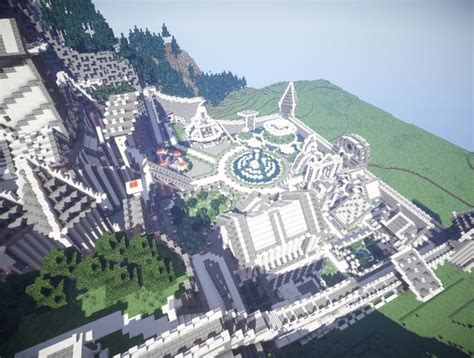 residence   mountains minecraft building