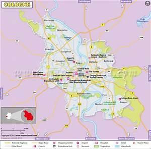 Google Maps Köln : cologne map city map of cologne germany ~ Watch28wear.com Haus und Dekorationen