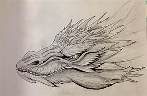 Smaug Head Portrait-Sketch by EemsArt on DeviantArt