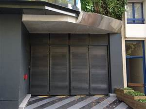 porte automatique basculante ou en accordeon sur rennes With porte de garage de plus porte accordeon