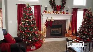 christmas decorating tips lowe39s creative ideas youtube With kitchen cabinets lowes with diy christmas wall art